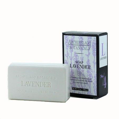 Archipelago Lavender Bar Soap (5.2 oz) Thumbnail