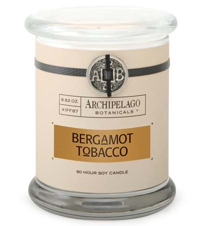Archipelago Bergamot Tobacco Jar Candle Thumbnail