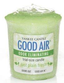 Yankee Candle Just Plain Fresh Good Air Sampler Votive Thumbnail