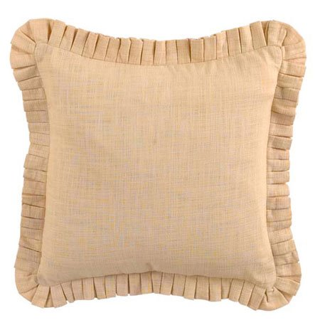 Waverly Cape Coral 20x20 Stacked Pleated Pillow Thumbnail