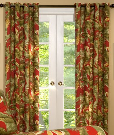 Captiva Grommet Curtains Thumbnail
