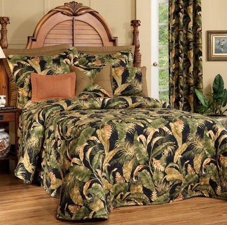 La Selva Black Queen Thomasville Bedspread Thumbnail