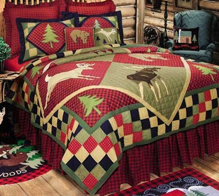 Lodge Full Queen Quilt Thumbnail