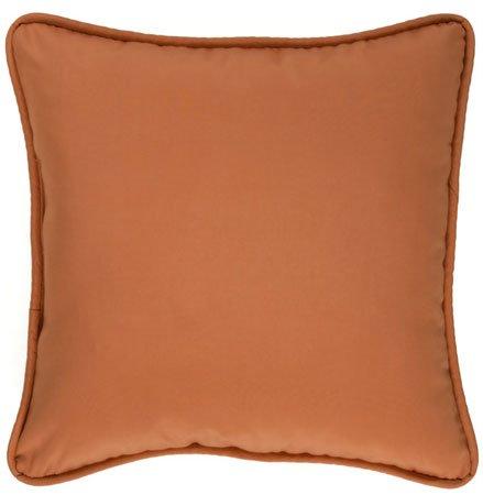 Cozumel Ginger Square Pillow Thumbnail