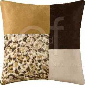 Sabi Sands Patchwork Pillow Thumbnail