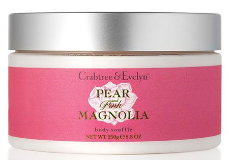Crabtree & Evelyn Pear and Pink Magnolia Body Souffle (8.8 oz, 250g) Thumbnail