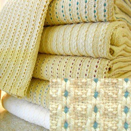 George Washington's Choice Blanket Full/Queen Blue Thumbnail