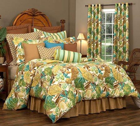 "Brunswick Cal King Thomasville Comforter Set (18"" bedskirt) Thumbnail"