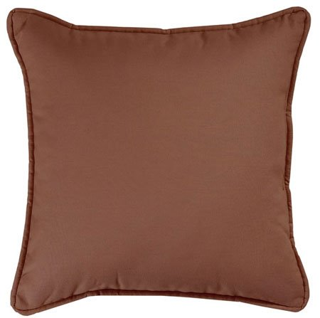 Brunswick Square Pillow Brown Thumbnail