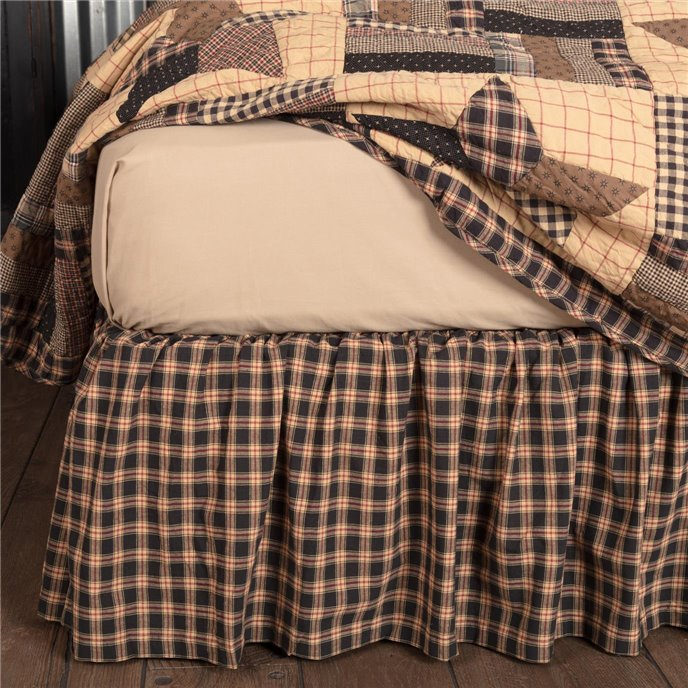 Bingham Star King Bed Skirt 78x80x16 Thumbnail