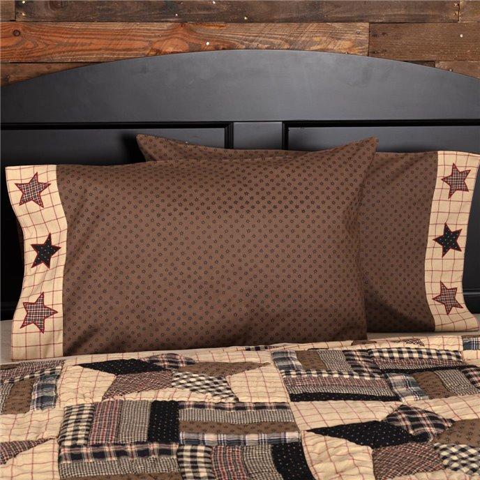 Bingham Star Standard Pillow Case Set of 2 21x30 Thumbnail
