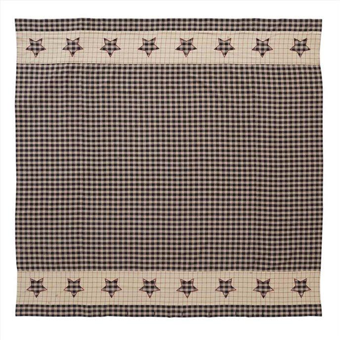 Bingham Star Shower Curtain 72x72 Thumbnail