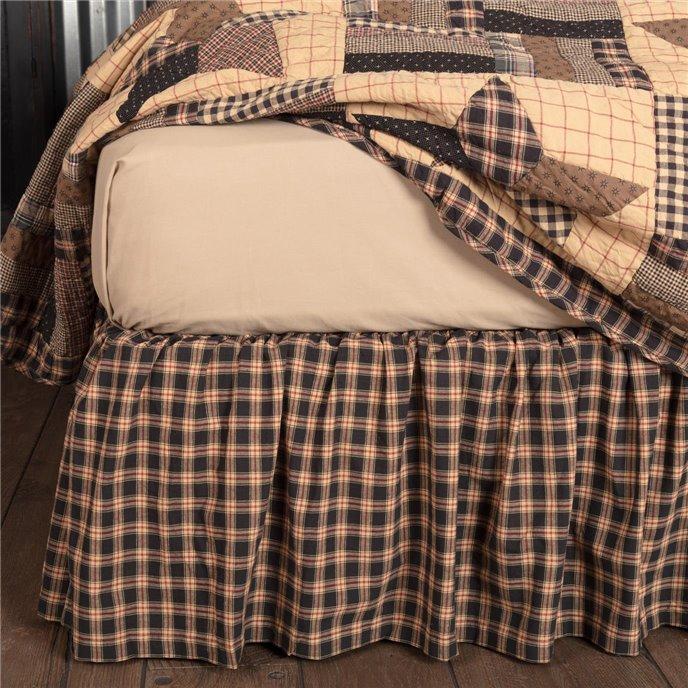 Bingham Star Twin Bed Skirt 39x76x16 Thumbnail