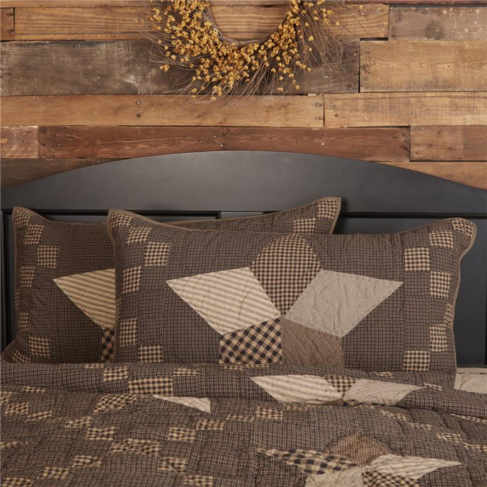 Farmhouse Star King Sham 21x37 Thumbnail