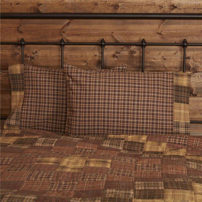 Prescott Standard Pillow Case Block Border Set of 2 21x30 Thumbnail