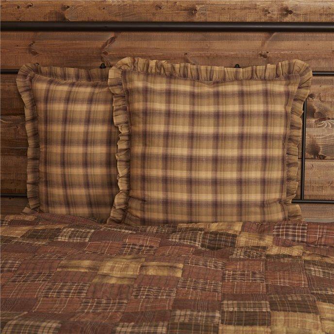 Prescott Euro Sham Fabric Ruffled 26x26 Thumbnail