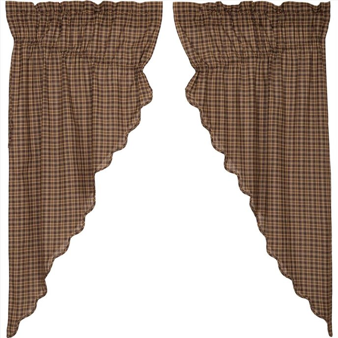 Prescott Prairie Short Panel Scalloped Set of 2 36x63x18 Thumbnail