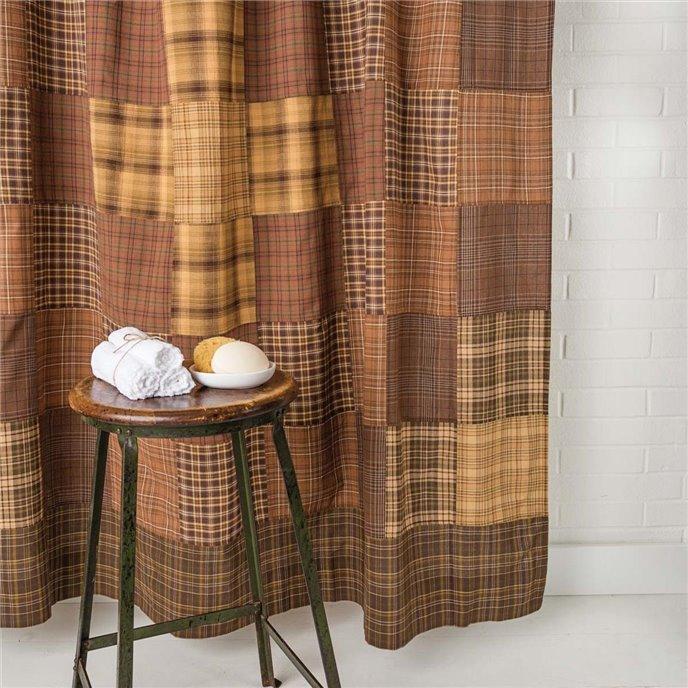Prescott Shower Curtain Unlined 72x72 Thumbnail