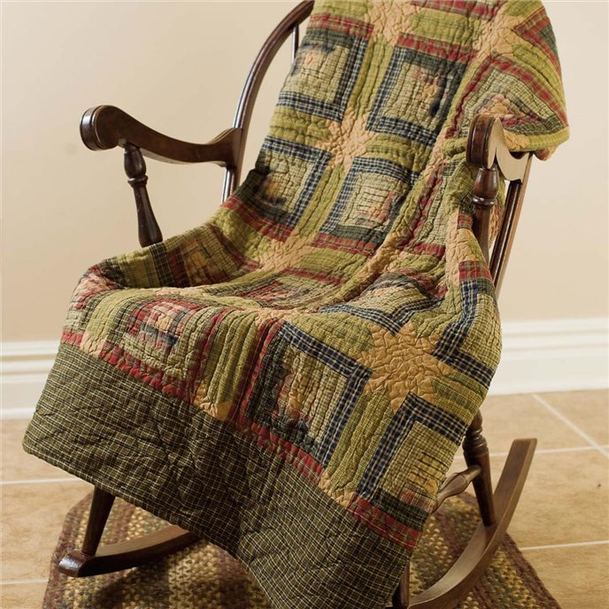 Tea Cabin Throw Quilted 60x50 Thumbnail