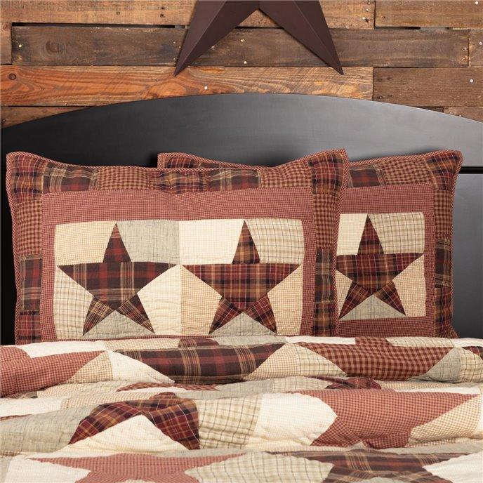 Abilene Star Standard Sham 21x27 Thumbnail