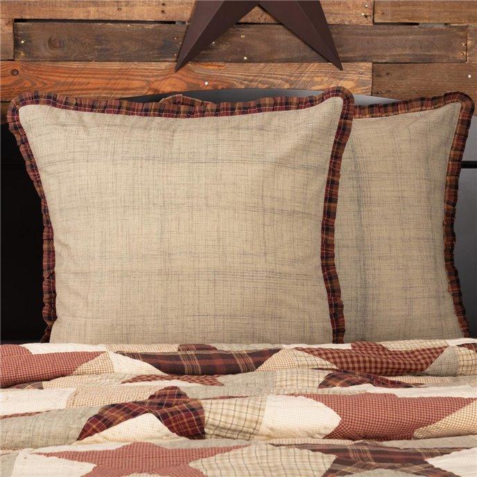 Abilene Star Fabric Euro Sham 26x26 Thumbnail