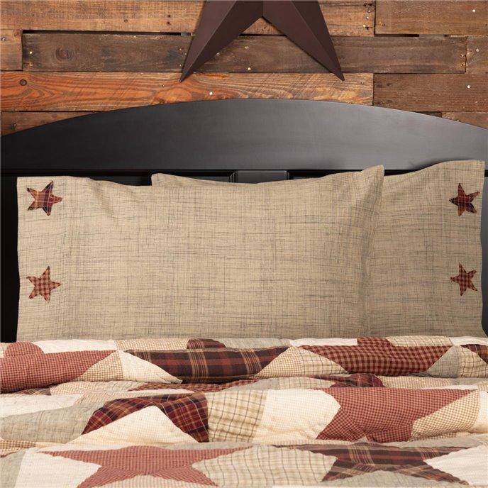 Abilene Star Standard Pillow Case Set of 2 21x30 Thumbnail
