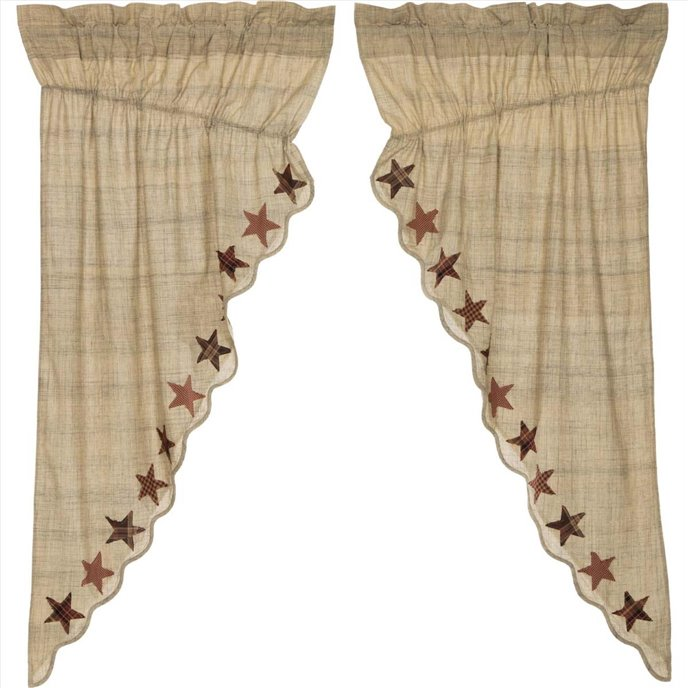 Abilene Star Prairie Short Panel Set of 2 63x36x18 Thumbnail