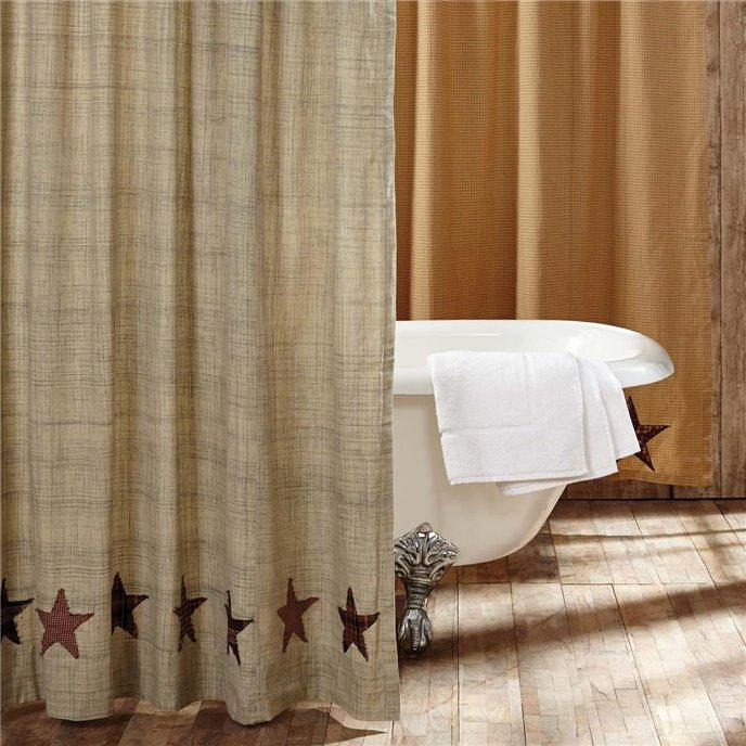 Abilene Star Shower Curtain 72x72 Thumbnail