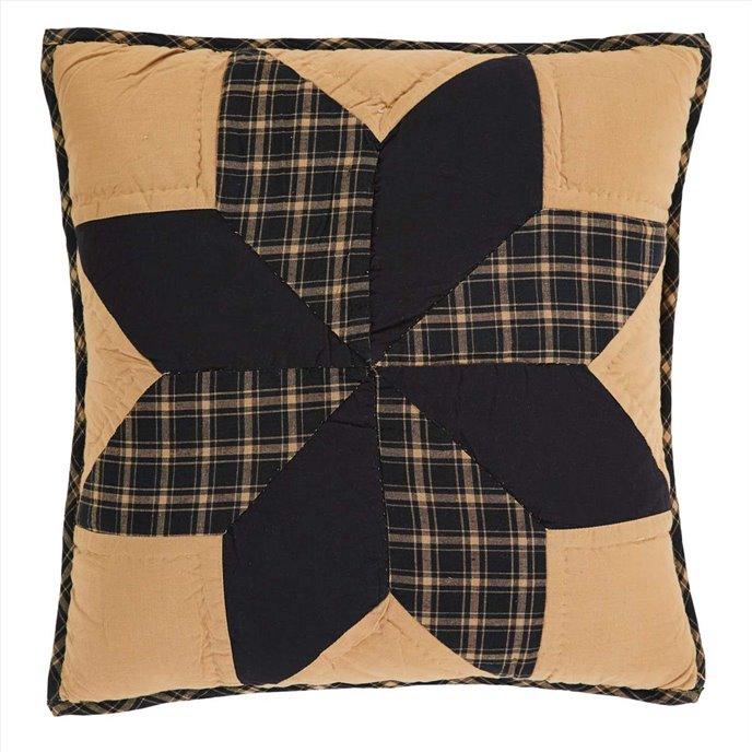 Dakota Star Quilted Pillow 16x16 Thumbnail