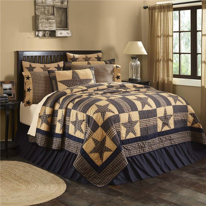 Teton Star Luxury King Quilt 120Wx105L Thumbnail