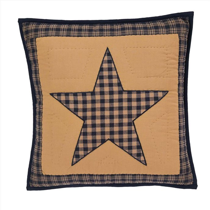 Teton Star Quilted Pillow 16x16 Thumbnail
