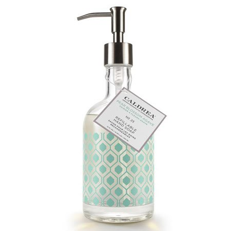 Caldrea Pear Blossom Agave Glass Refillable Hand Soap Thumbnail