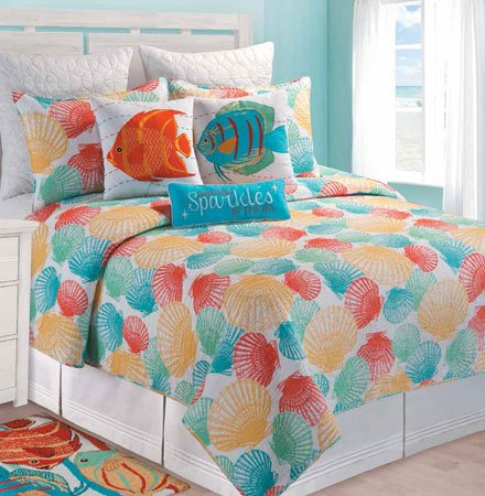 Captiva Island Full Queen Quilt Thumbnail