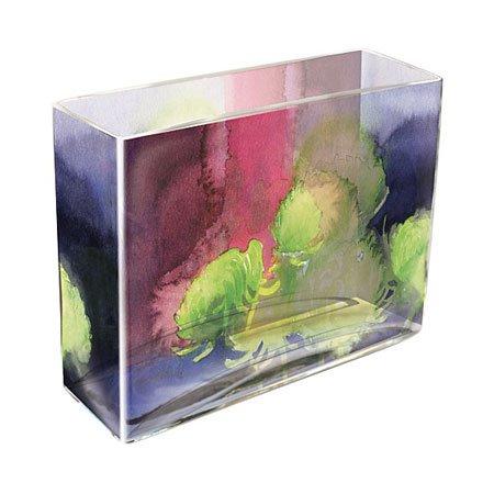 Green Mums Rectangular Chelsea Vase Thumbnail