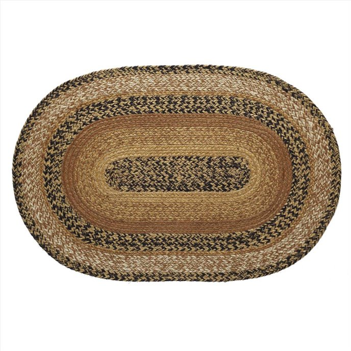 Kettle Grove Jute Rug Oval 20x30 Thumbnail