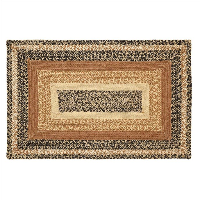 Kettle Grove Jute Rug Rectangular 24x36 Thumbnail