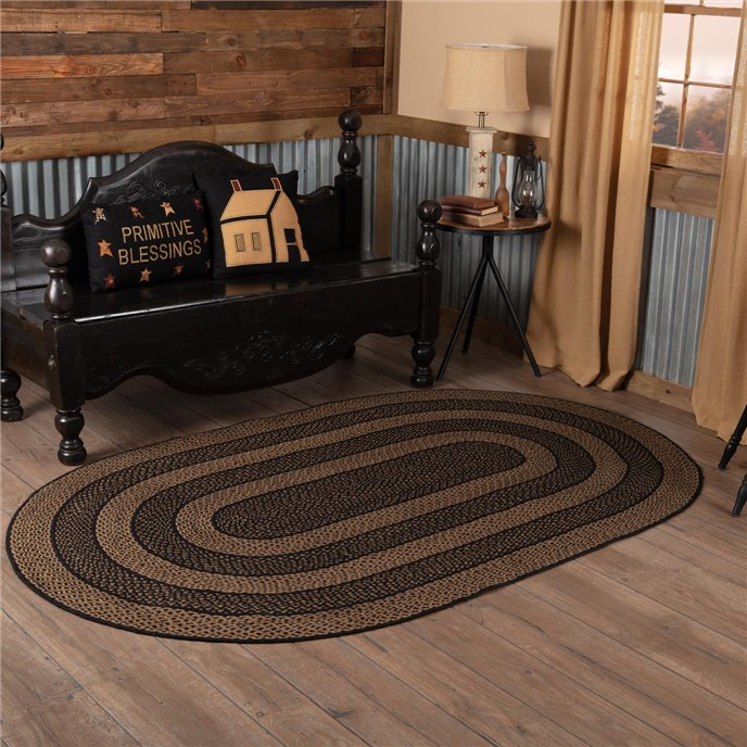 Farmhouse Jute Rug Oval 60x96 Thumbnail
