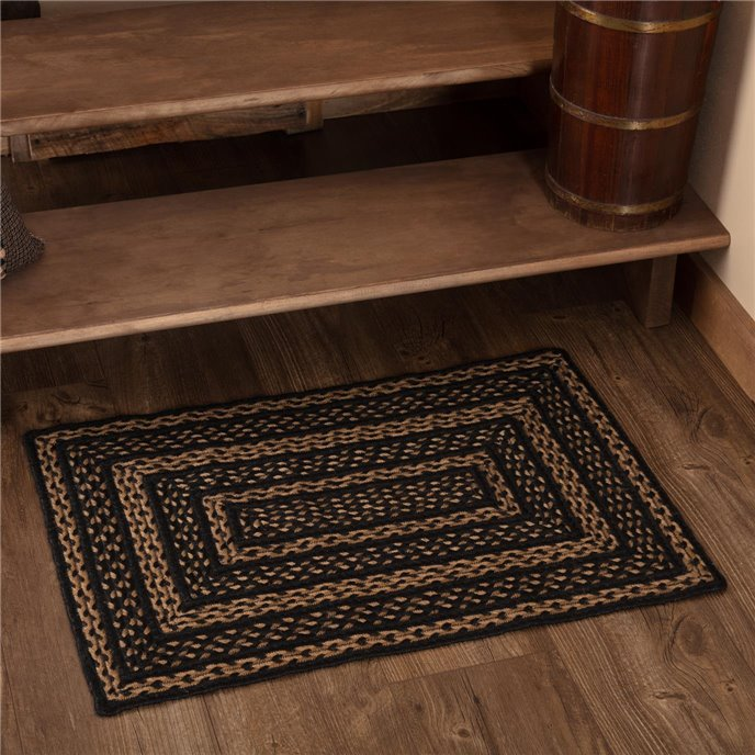 Farmhouse Jute Rug Rectangular 20x30 Thumbnail