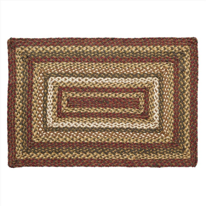 Tea Cabin Jute Rug Rectangular 24x36 Thumbnail