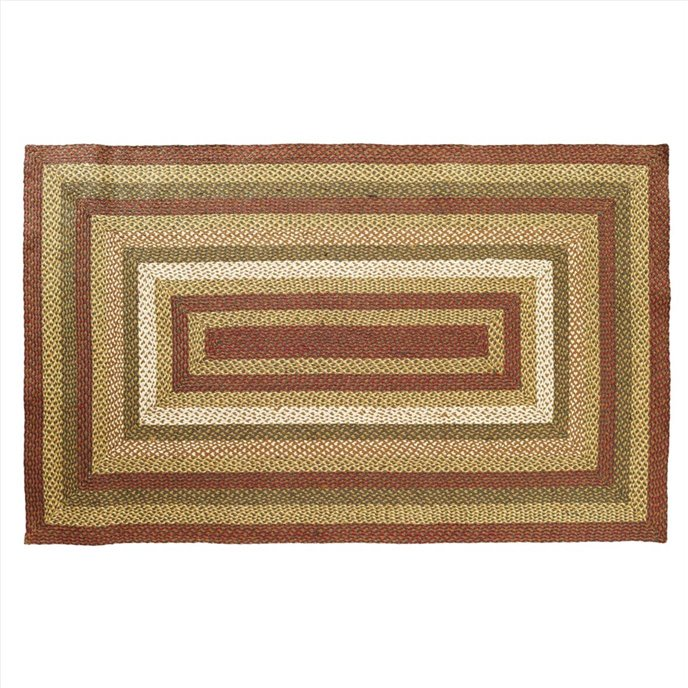 Tea Cabin Jute Rug Rectangular 60x96 Thumbnail