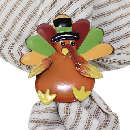 Multicolor Turkey Napkin Ring Thumbnail