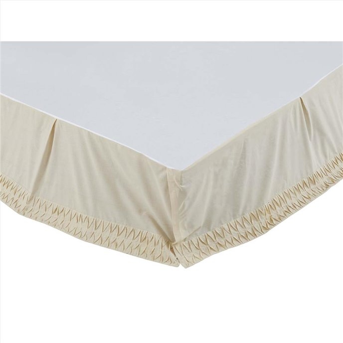 Adelia Creme Twin Bed Skirt 39x76x16 Thumbnail