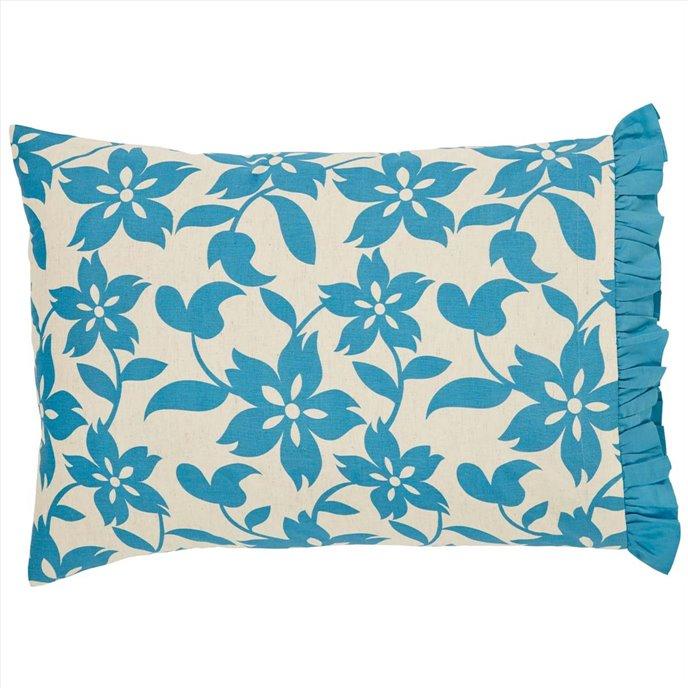 Briar Azure Standard Pillow Case Set of 2 21x30 Thumbnail