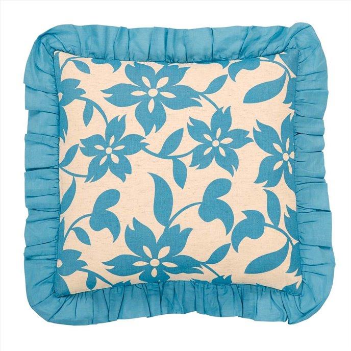 Briar Azure Pillow Cover 18x18 Thumbnail