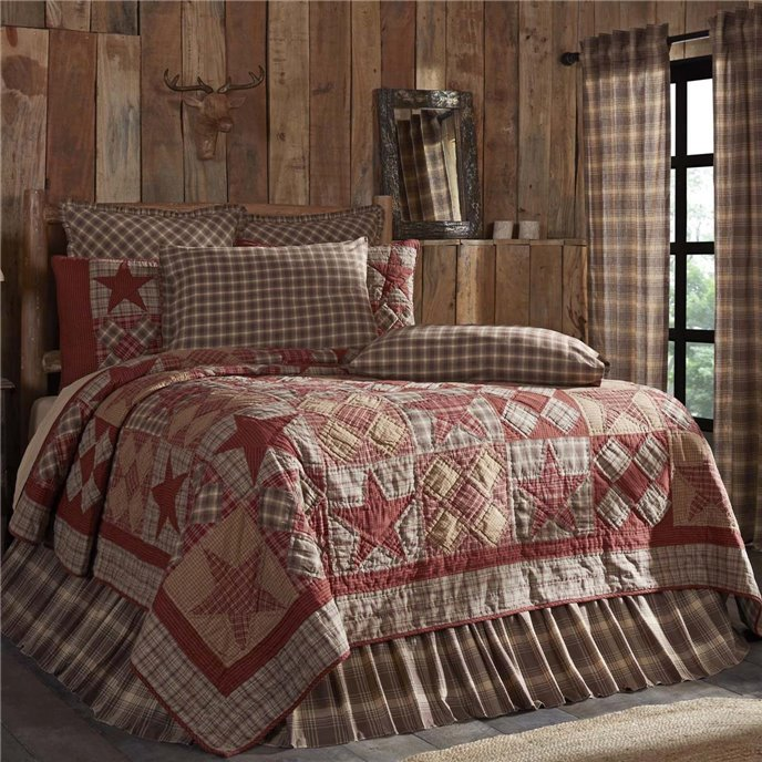 Dawson Star Luxury King Quilt 120Wx105L Thumbnail
