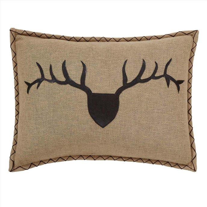 Dawson Star Trophy Head Pillow Applique 14x18 Thumbnail