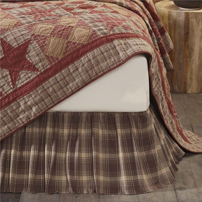 Dawson Star Twin Bed Skirt 39x76x16 Thumbnail