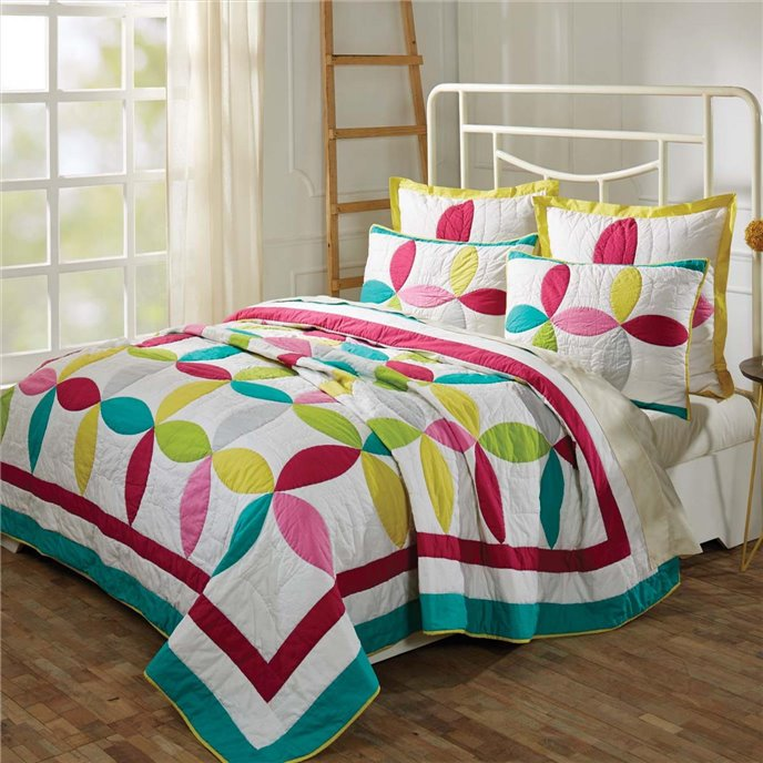 Everly Lux King Set; Quilt 120Wx105L-2 Shams 21x37 Thumbnail