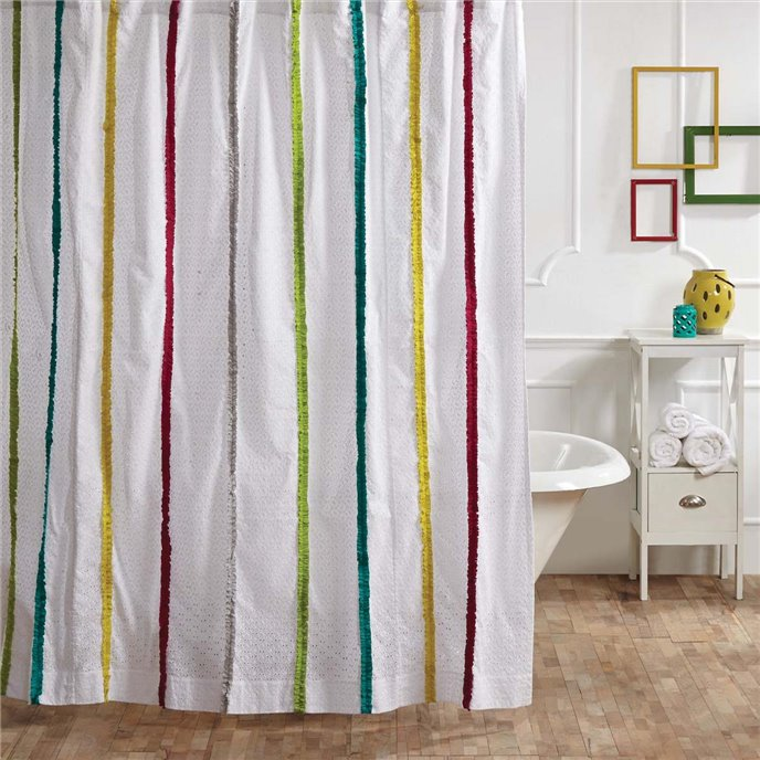 Everly Shower Curtain 72x72 Thumbnail