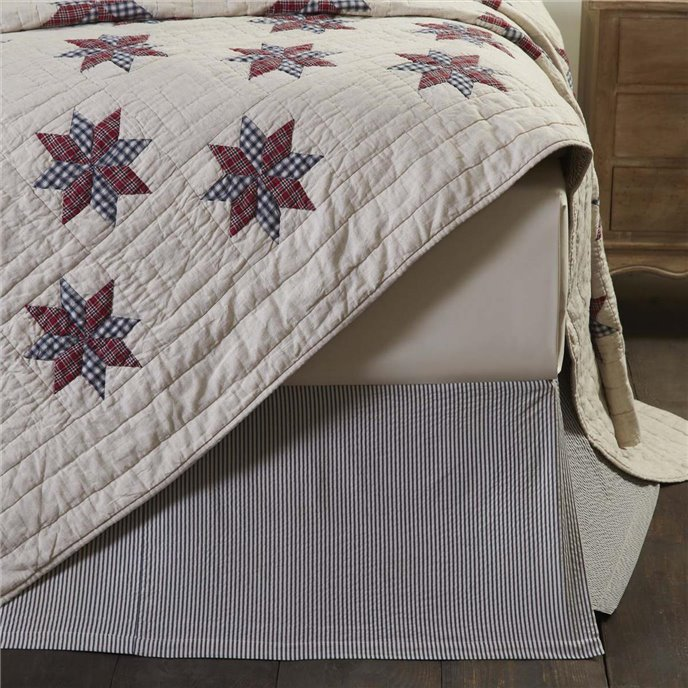 Lincoln Twin Bed Skirt 39x76x16 Thumbnail